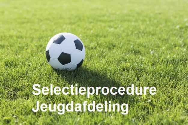 Voorlopige selectie jeugdafdeling 2021-2022