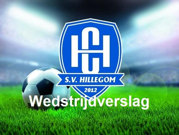 SV Hillegom maakt misstap van vorige week goed.