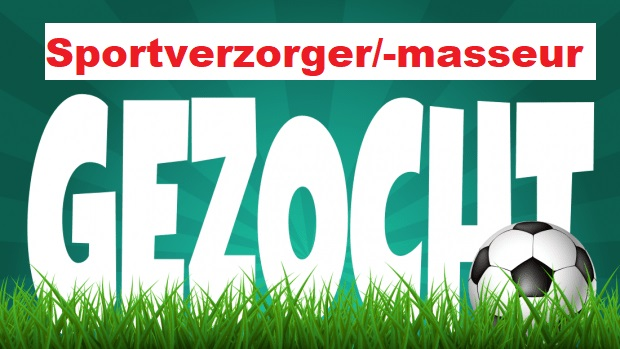 Gezocht: verzorger/sportmasseur (m/v) eerste selectie m.i.v. seizoen 2021-2022