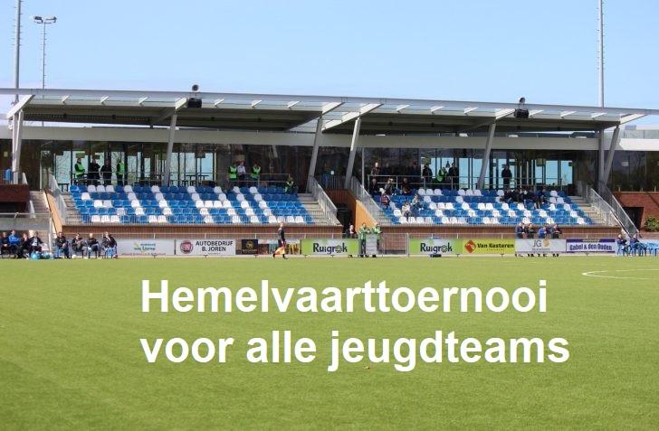 Hemelvaarttoernooi voor alle jeugdteams