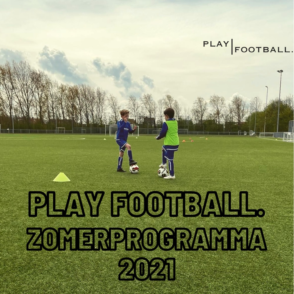 Playfootball. Zomerprogramma. Meld je nu aan!