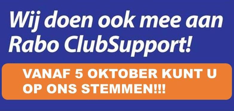 Stem op SV Hillegom bij de Rabo Clubsupport actie!