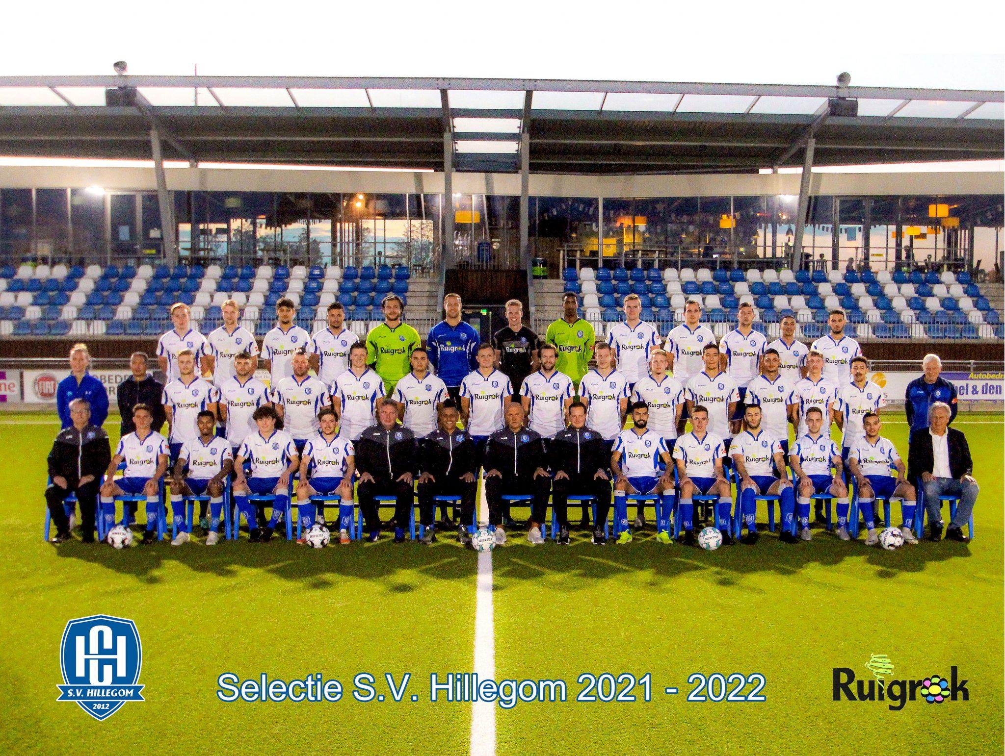 De selectie seizoen 2021-2022