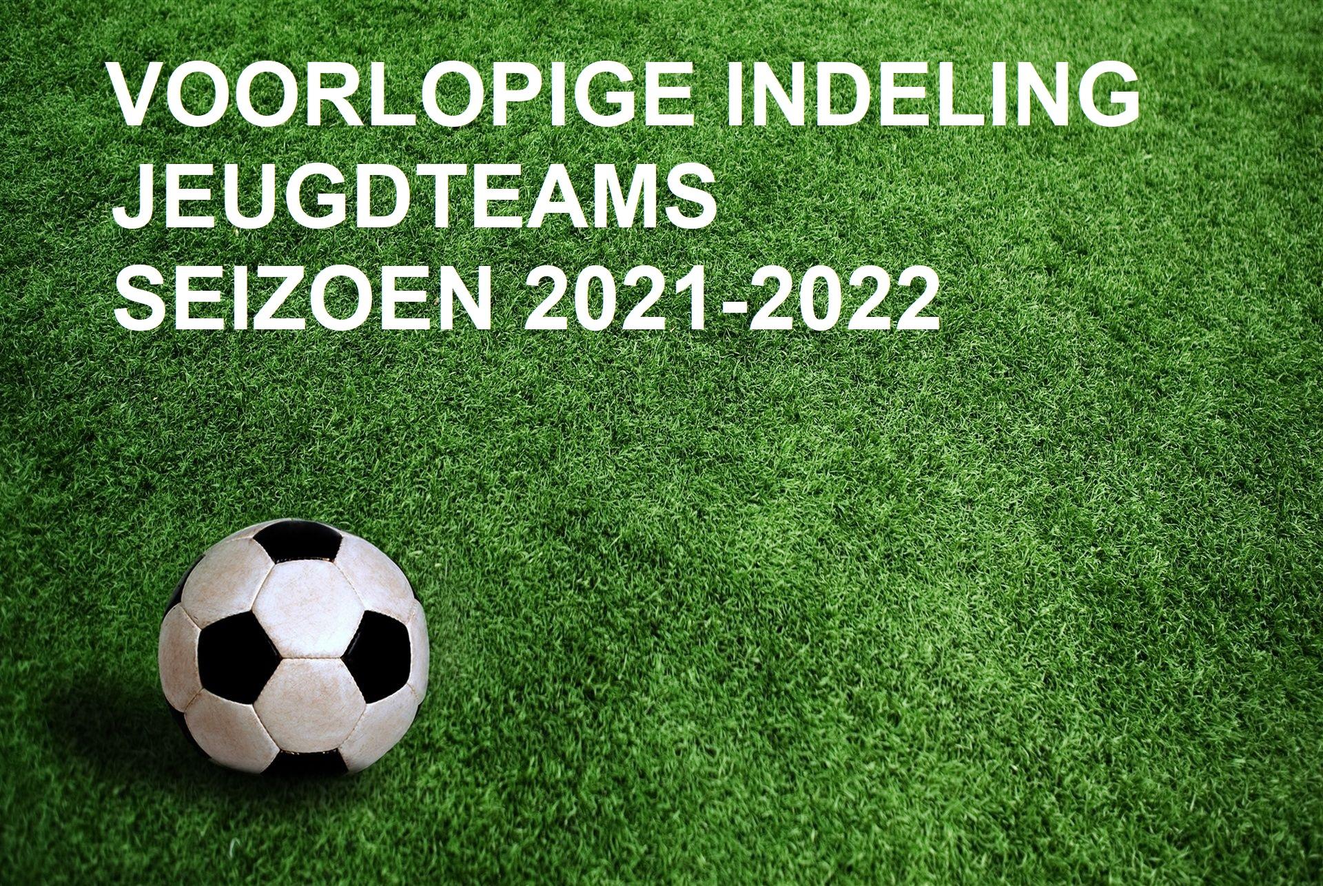 UPDATE: Voorlopige teamindelingen jeugd seizoen 2021-2022