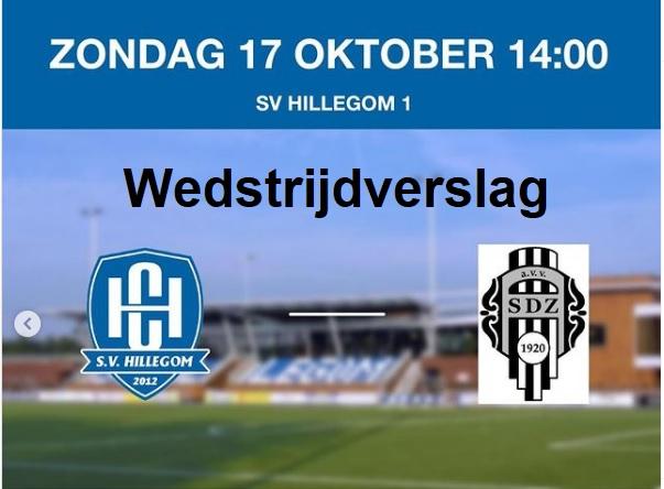 SV Hillegom lijdt eerste nederlaag van het seizoen