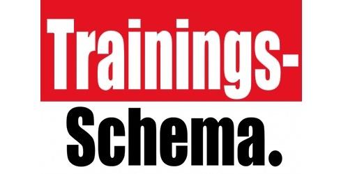 Met ingang van 1 april geldt weer het oorspronkelijke trainingsschema!